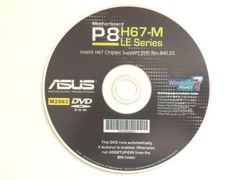 Драйвер материнская плата ASUS P8H67-M LE