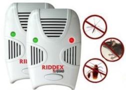 Инструкция пользователя устройства для отпугивания вредителей Риддекс Куад (Riddex Quad)
