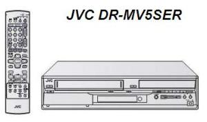 Инструкция по эксплуатации DVD видеорекордер и видеомагнитофон JVC DR-MV5SER.