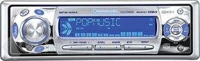 Инструкция по эксплуатации MP3/WMA/CD-плеер/ресивер Panasonic CQ-C5400/C5300N с функциями управления CD-чейнджером.