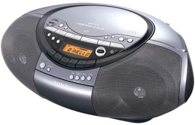 Инструкция по эксплуатации Sony CD radio cassette corder CFD-RS60CP.