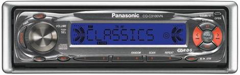 Руководство по эксплуатации CD-плеер/ресивер Panasonic CQ-C3100VN