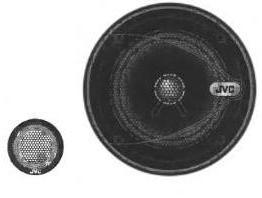 Руководство по эксплуатации автомобильные стереофонические громкоговорители JVC CS-V 551.