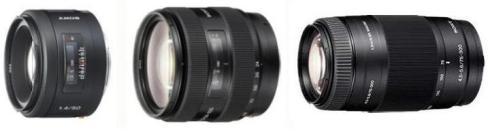 Руководство по эксплуатации объективы Sony SAL24105/75300/50F14.