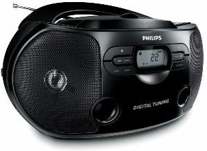 Руководство пользователя проигрыватель CD дисков/FM радио Philips AZ 1326.