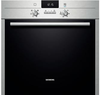 Инструкция по эксплуатации духовой шкаф Siemens серии HB и HE.