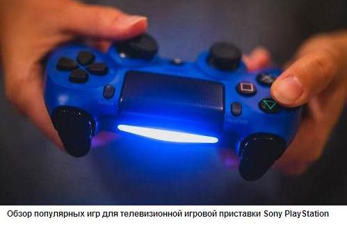 Самые популярные игры для телевизионной игровой приставки Sony PlayStation