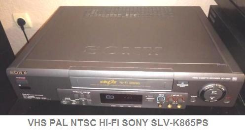Инструкция по эксплуатации кассетный видеомагнитофон VHS PAL NTSC HI-FI SONY SLV-K865PS