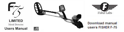 Инструкция пользователя металлоискатель FISHER F-75