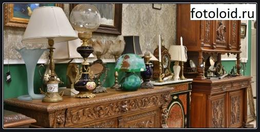 Старинная мебель для изысканного интерьера
