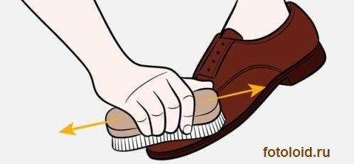 Инструкция по уходу за обувью