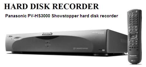 Инструкция по эксплуатации Panasonic PV-HS3000 Showstopper