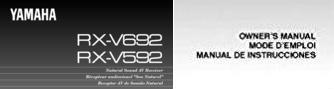 Мануал на русском языке по эксплуатации аудио/видео ресивер YAMAHA RX-V692/592
