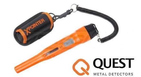 Инструкция по эксплуатации металлодетектор Quest Xpointer Pro