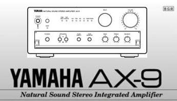 Инструкция пользователя на русском языке стерео усилитель серии «Natural Sound» YAMAHA AX-9
