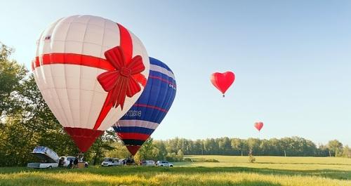 Подарок - полет на воздушном шаре