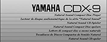 Руководство по эксплуатации проигрыватель компакт-дисков YAMAHA CDX-9